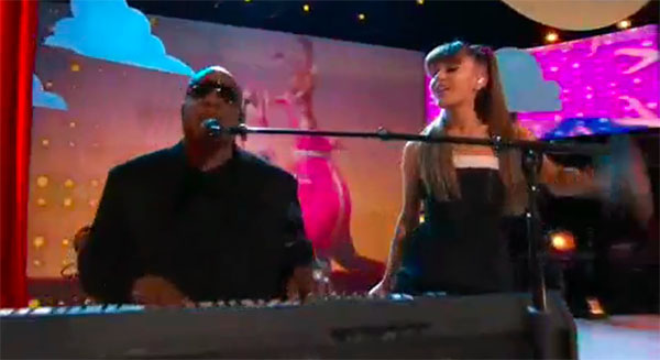 Stevie Wonder, Ariana Grande sings 'Faith' on The Voice Finale