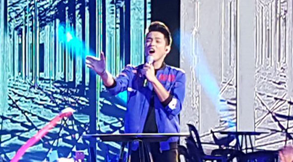 Ford Valencia sings 'Without You' on Pinoy Boyband Superstar Grand Final