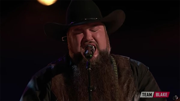 Sundance Head sings 'Darlin Don't Go' on The Voice Live Finale