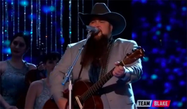 Sundance Head sings 'At Last' on The Voice Finale