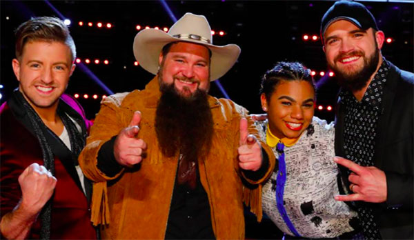 The Voice iTunes Chart Rankings, Sundance Head and Billy Gilman Leads