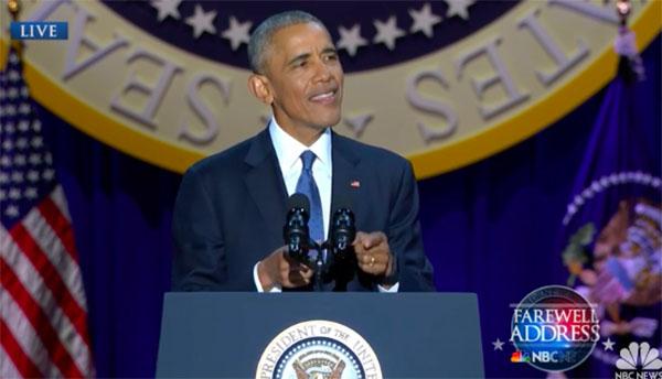 Barack Obama Farewell Speech Full Video Replay, Read Full Transcript