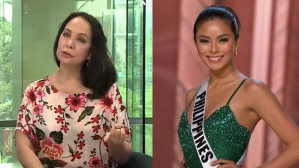 Gloria Diaz says Maxine Medina is 'Saling Pusa' at Miss Universe 2016