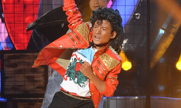 Justin Alva impersonates Michael Jackson on Your Face Sounds Familiar Kids January 7, 2017