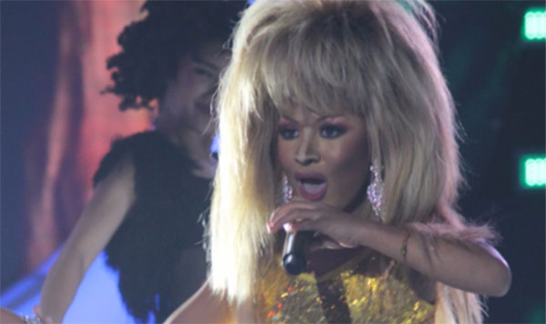 Lyca Gairanod impersonates Tina Turner on Your Face Sounds Familiar Kids Proud Mary