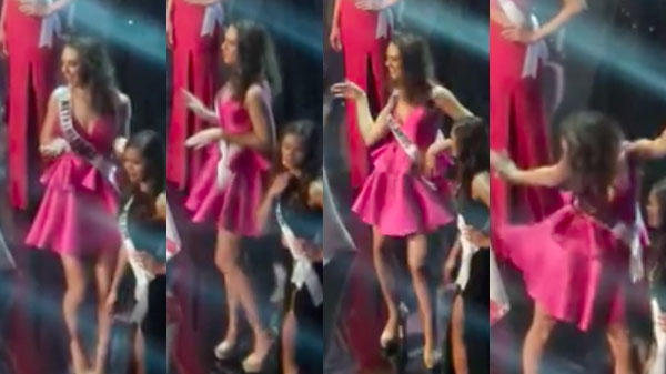 Miss Netherlands Zoey Ivory dancing to 'Single Ladies' during Miss Universe went viral