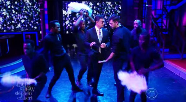 Stephen Colbert parodies Mariah Carey's New Years Eve Disaster, Tuesday, January 3, 2017