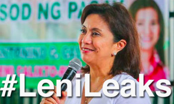 Malacañang probes 'Lenileaks' controversy