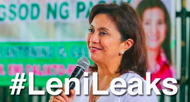 Malacañang probes 'Lenileaks' controversy, Leni Robredo, Loida Nicolas Lewis, oust Duterte movement, plot, yahoo group