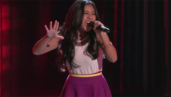 Filipina singer Anatalia Villaranda sings Run Away Baby The Voice 2017 Blind Auditions.jpg