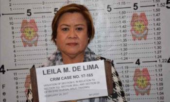 Watch: Leila De Lima arrested, Mugshot released