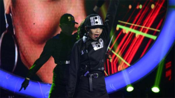 AC Bonifacio impersonates Janet Jackson on Your Face Sounds Familiar Kids