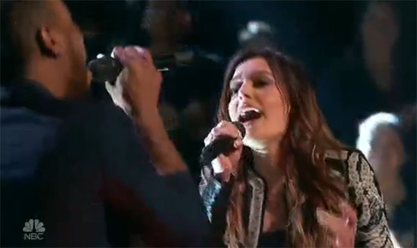 Davina Leone vs Brandon Royal 'In The Night' The Voice 2017 Battle Rounds