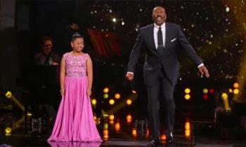 Watch: Elha Nympha sings 'Chandelier' on Steve Harvey's Little Big Shots