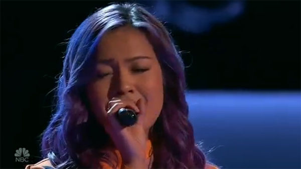 Fil-am singer Gaby Borromeo wows with 'Happy' on The Voice 2017 Blind Auditions