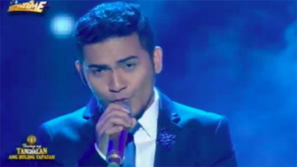 Froilan Canlas sings 'Tadhana' on Tawag Ng Tanghalan Grand Finals Ang Huling Tapatan March 11 2017