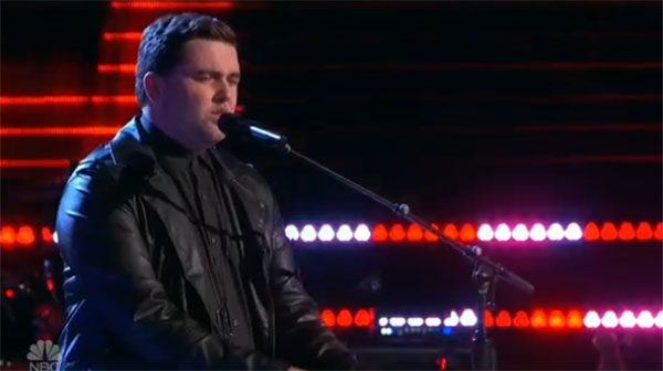 Jack Cassidy sings 'One of Us' on The Voice 2017 Blind Auditions