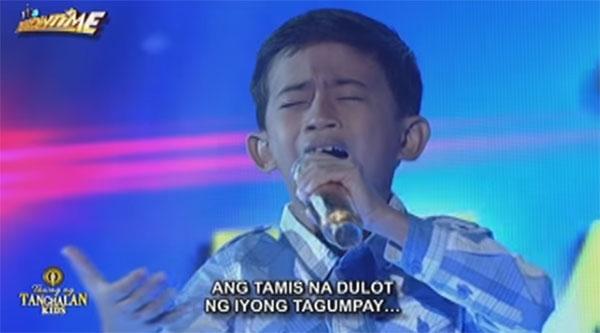 Watch: John Clyd Talili sings 'Lipad Ng Pangarap,' remains Tawag Ng Tanghalan Kids champ