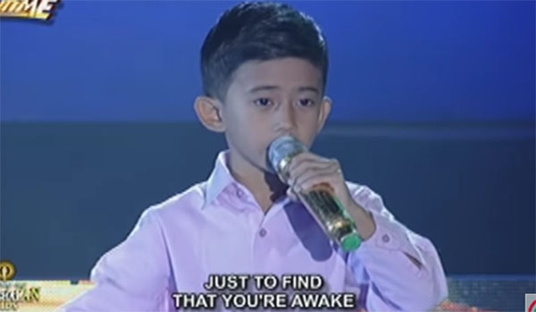 Watch: John Clyd Talili sing 'I Believe,' defends Tawag Ng Tanghalan Kids title