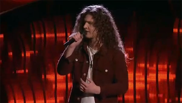 Josh West sings 'Ordinary World' on The Voice 2017 Blind Auditions