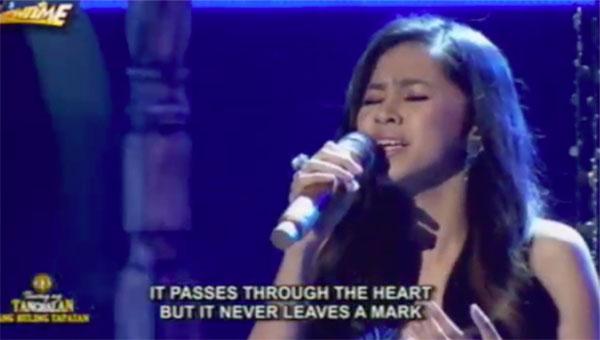 Marielle Montellano 'Healing' on Tawag Ng Tanghalan Grand Finals Ang huling Tapatan March 11 2017