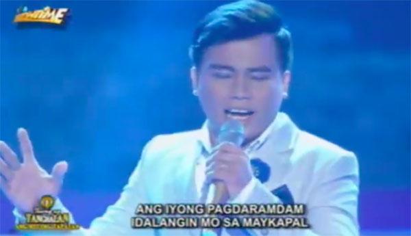 Noven Belleza sings 'May Bukas Pa' on Tawag Ng Tanghalan Grand Finals Ang Huling Tapatan March 11 2017