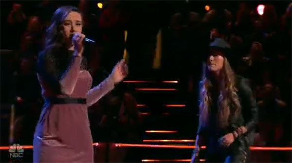 Stephanie Rice vs Caroline Sky 'The First Cut Is the Deepest' The Voice 2017 Battle Rounds