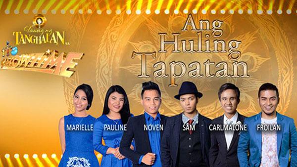 Tawag Ng Tanghalan Grand Finals Live Results and Winner Ang Huling Tapatan March 11 2017