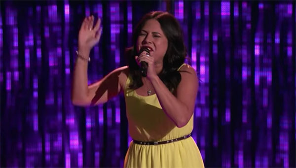 Valerie Ponzio sings 'Ring of Fire' on The Voice 2017 Blind Auditions