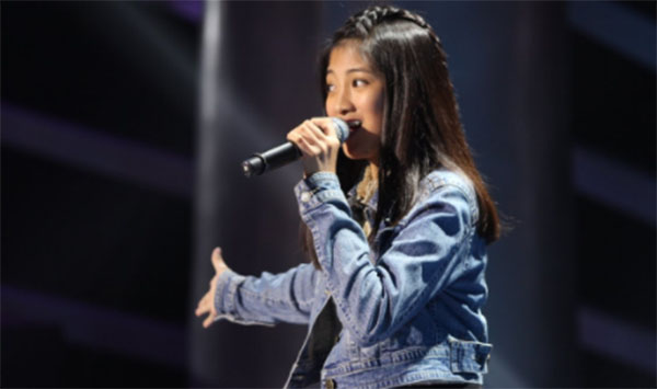 Angel Chloe Redondo sings 'Masterpiece' on The Voice Teens Philippines
