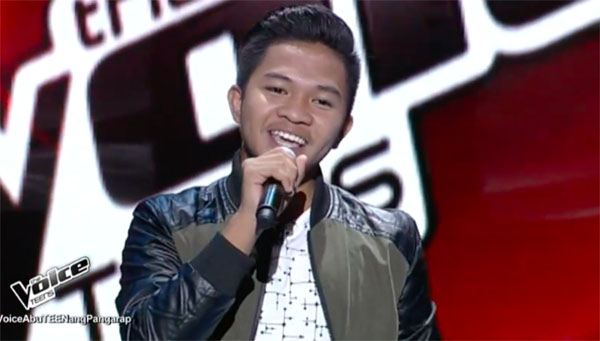 Emarjhun De Guzman sings 'One Day' on The Voice Teens Philippines Blind Auditions