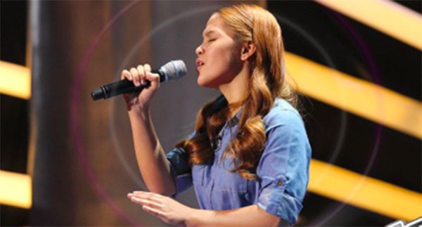 Erica Ladiza sings 'Salamat' on The Voice Teens Philippines Blind Auditions