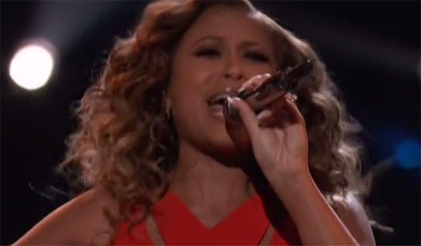 Felicia Temple sings 'Defying Gravity' on The Voice Live Playoffs