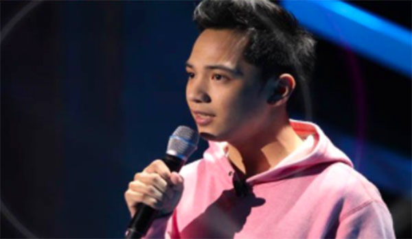 Francis Dacanay sings 'Right Here Waiting' on The Voice Teens Philippines Blind Auditions