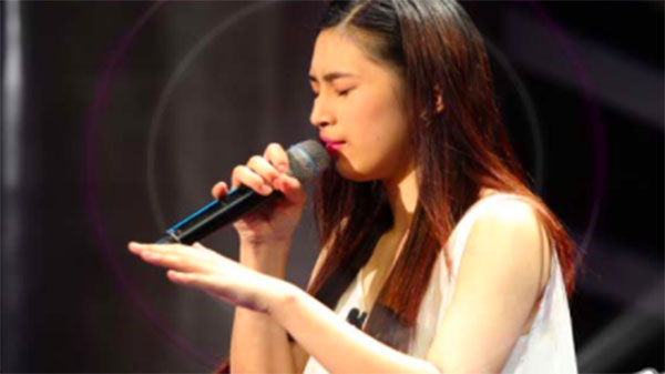 Isabela Vinzon sings 'Feelin' Good' on The Voice Teens Philippines Blind Auditions
