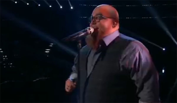 Jesse Larson sings 'Make You Feel My Love' on The Voice Top 12 Live Shows