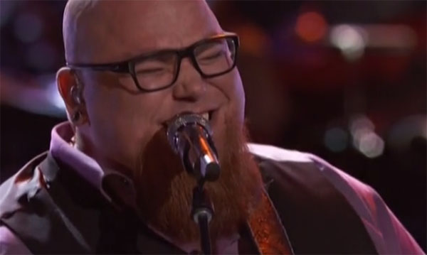 Jesse Larson sings 'Sir Duke' on The Voice Live Playoffs