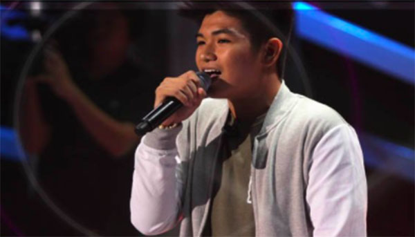 John McEarl Estrada sings 'Dahil Sa'yo' on The Voice Teens Philippines Blind Auditions