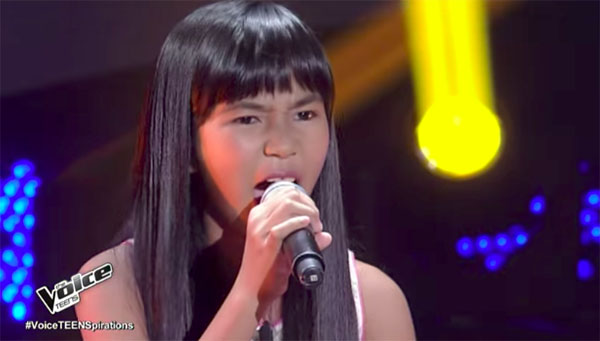 Jona Soquite sings 'Anak ng Pasig' on The Voice Teens Philippines Blind Auditions