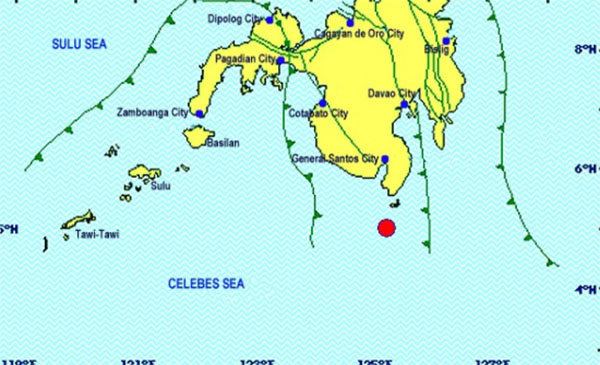 Magnitude 7.2 Earthquake shakes Sarangani April 29 2017