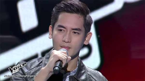 Mike Escutin sings 'Invisible' on The Voice Teens Philippines Blind Auditions