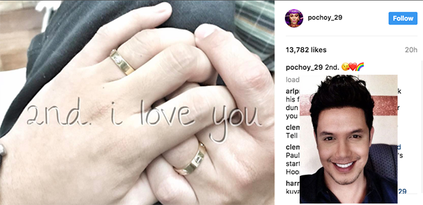 Paolo Ballesteros comes out as gay, revealed Roland Ochoa Anog as partner