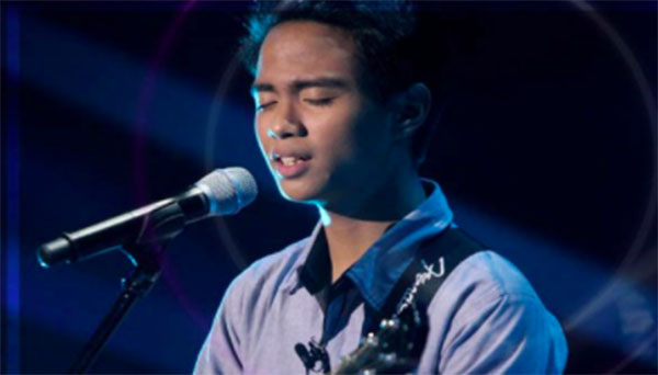 Patrick Corporal sings 'Fly Me To The Moon' on The Voice Teens Philippines Blind Auditions