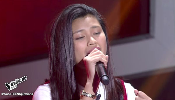 Queenie Ugdiman sings 'Scared To Death' on The Voice Teens Philippines Blind Auditions