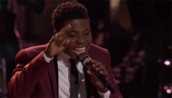 Quizz Swanigan sings 'My Girl' on The Voice Live Playoffs
