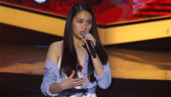 Sophia Ramos sings 'Stone Cold' on The Voice Teens Philippines Blind Auditions