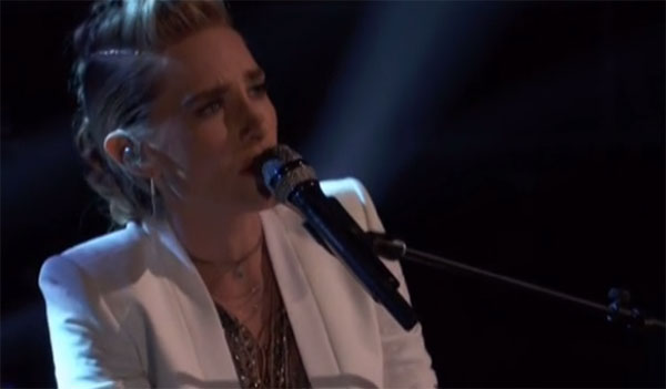 Stephanie Rice sings 'Every Breath You Take' on The Voice Live Playoffs