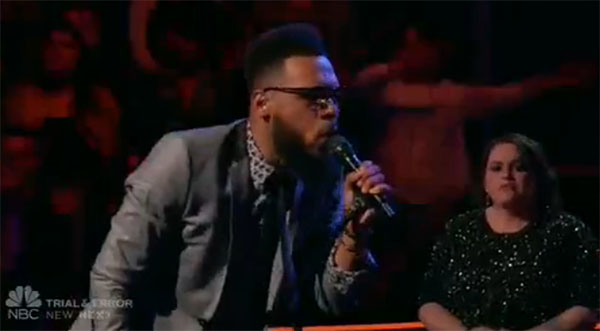 T Soul sings 'These Arms of Mine' on The Voice 2017 Knockouts