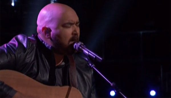 Troy Ramey sings 'A Case of You' on The Voice Live Playoffs