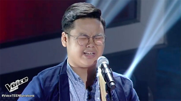 Watch: Jem Macatuno sings 'Mahirap Magmahal Ng Syota Ng Iba' on The Voice Teens Philippines